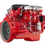 Fabryczna część do silnika marki Cummins koloru czerwonego