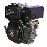 Czarny silnik marki Diesel stanowiący część maszyn produkowany po 2010 roku na całym świecie