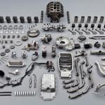 Części zamienne wchodzące w budowę silników i maszyn produkcji Scania