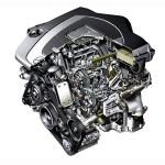 Nowoczesny silnik marki Mercedes produkcji z ostatnich lat